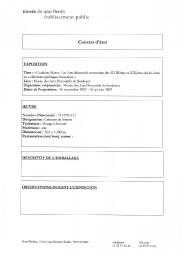 Constat d'état de prêt de l'objet 74.1970.4.11